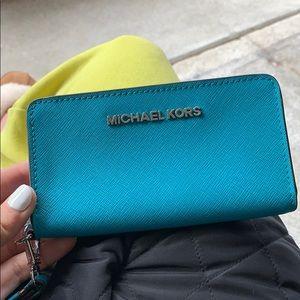 Michael Kors wallet/ phone case